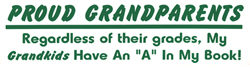Proud Grandparents Bumper Sticker